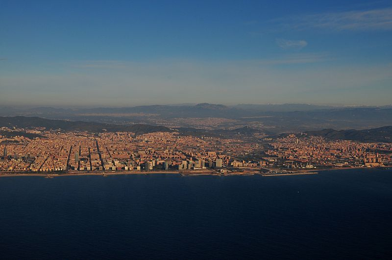 feb 19 7136 approaching barcelona