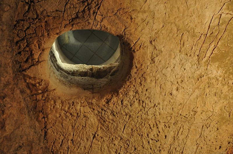 nov 21 3013 caiphus prison ceiling hole